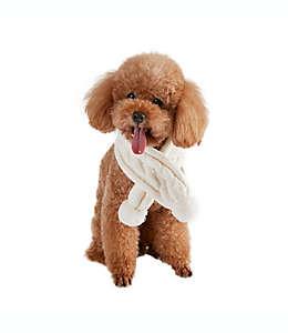 Bufanda tejida para perro Bee & Willow™ Home en blanco