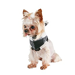 Bee & Willow™ Buffalo Check Dog Bandana in Black/White