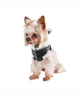 Pañuelo para mascota Buffalo Check Bee & Willow™ en negro/blanco