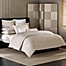 Part of the Barbara Barry® Simplicity Stitch Duvet Cover in Silver Birch