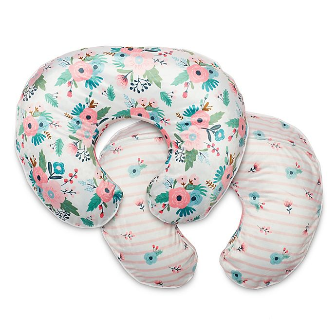 Alternate image 1 for Boppy® Boutique Nursing Pillow Cover in Boutique Pink Floral Duet