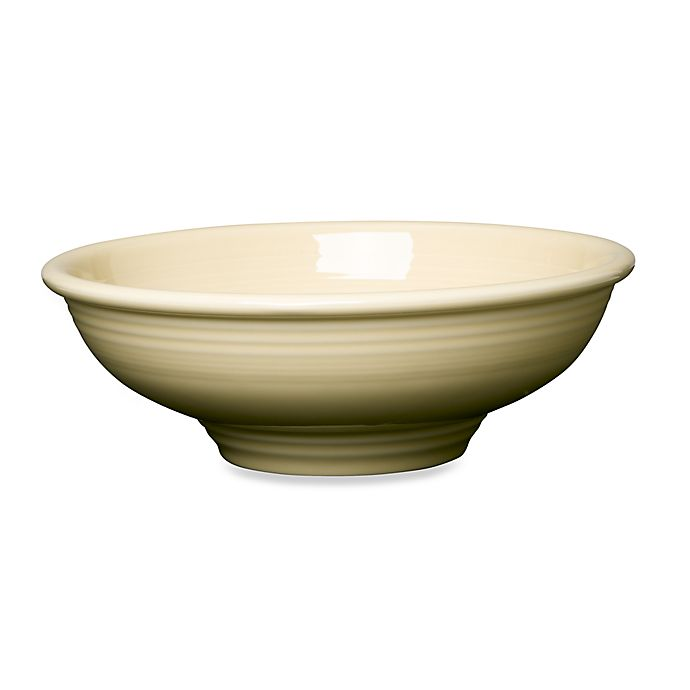 Alternate image 1 for Fiesta® Pedestal Bowl in Ivory