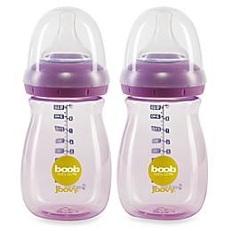 Joovy® Boob 9-Ounce Baby Bottle in Purpleness (2-Pack)