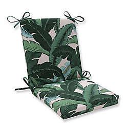 Pillow Perfect Swaying Palms Capri Square Chair Cushion