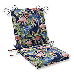 Pillow Perfect Flamingo Lagoon Squared Corner Cushion