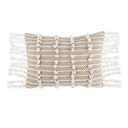 Bee & Willow™ Home Rustic Nubs Oblong Throw Pillow in Natural