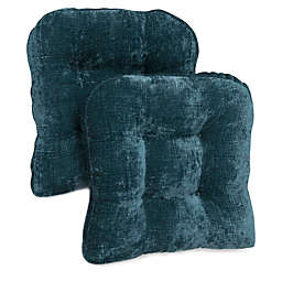 Brentwood Originals Carmichael Memory Foam Chair Pads (Set of 2)