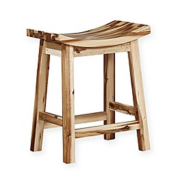 Powell Thomas 24.25-Inch Counter Stool in Brown