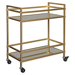 Signature Design By Ashley Kailman Bar Cart in Gold