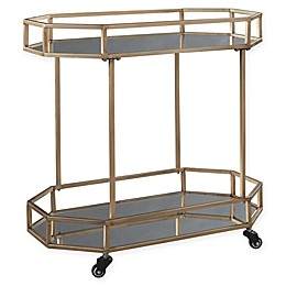Signature Design By Ashley Daymont Bar Cart in Gold