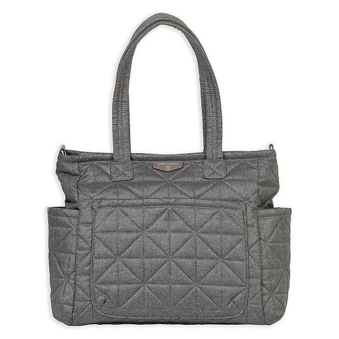 Alternate image 1 for TWELVElittle Carry Love Tote Diaper Bag in Grey Nylon