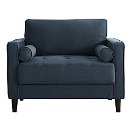 Lifestyle Solutions Lang Armchair in Navy