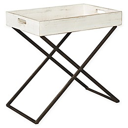 Signature Design by Ashley® Janfield Accent Table in Antique White
