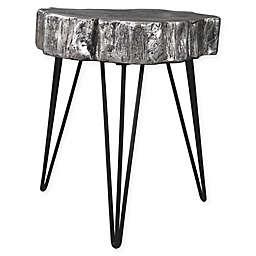 Signature Design by Ashley® Dellman Accent Table in Antique Silver