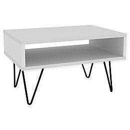 Manhattan Comfort Nolita Coffee Table in White