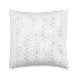 Barbara Barry® French Knots 14-Inch Square Throw Pillow in Silver Birch