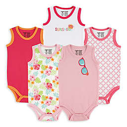 BabyVision® Luvable Friends® 5-Pack Sunglasses Sleeveless Bodysuits
