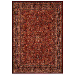 Couristan® Antique Kashan Burgundy/Navy Indoor Rug