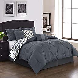 Nanshing Loren Reversible 7-Piece Comforter Set