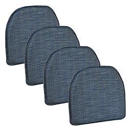 Gripper® Kahuna Non-Slip Chair Pads in Denim Blue (Set of 4)