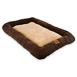 SnooZZy® Low Bumper 31-Inch by 21-Inch Crate Mat in Coffee Liqueur Chenille