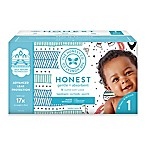 Honest 80-Pack Size 1 Diapers in Tribal Pattern