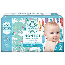 The Honest Company® Feathers and Bunnies Size 2 76-Count Disposable Diapers