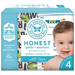 The Honest Company® T-Rex and Trains Size 4 60-Count Disposable Diapers