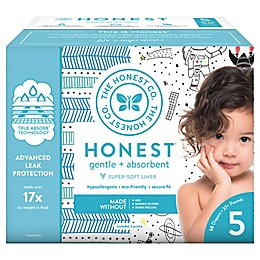Honest 50-Pack Size 5 Diapers in Space Travel Pattern