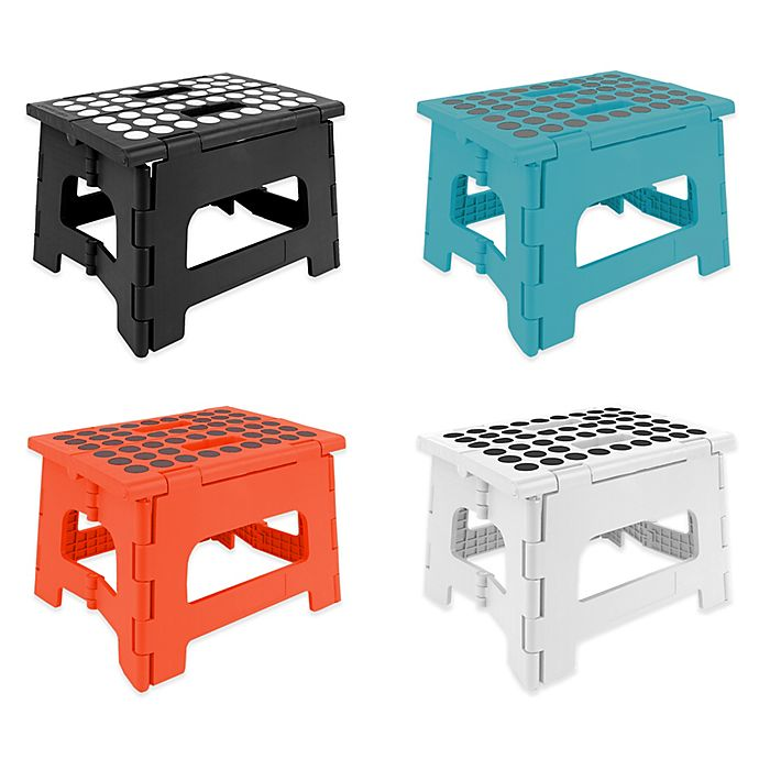 Kikkerland Easy Folding Step Stool View A Larger Version Of This Product Image