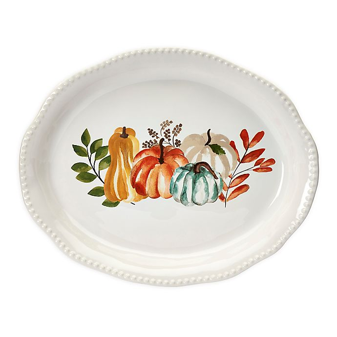 Alternate image 1 for Modern Farmhouse  Harvest 18-Inch Oval Platter
