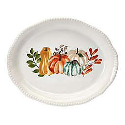 Modern Farmhouse  Harvest 18-Inch Oval Platter