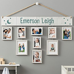 Wallverbs™ Baby Love Personalized Hanging Picture Frame Set