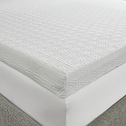 Sleep Philosophy Flexapedic 3-Inch Twin XL Foam Topper in White