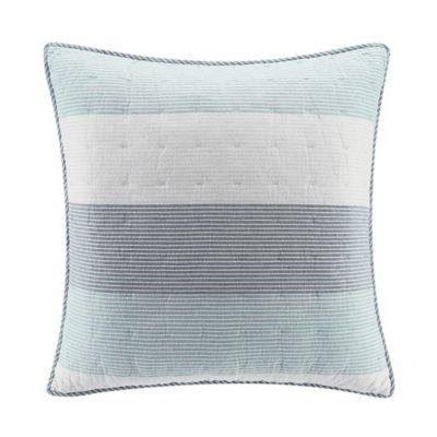 Ugg 174 Tideline European Pillow Sham In Desert Blue Bed