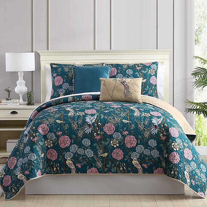Alternate image 1 for Pacific Coast Textiles Tel-Aviv 5-Piece Quilt Set