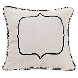 HiEnd Accents August Oblong Throw Pillow in White