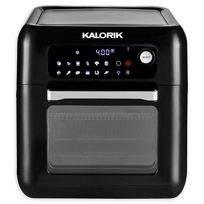 Alternate image 1 for Kalorik® 6 q.t Air Fryer Oven in Black