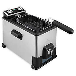 Kalorik® 4-Liter XL Deep Fryer with Oil Filtration in Black