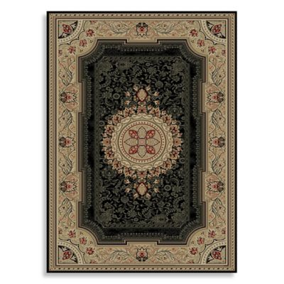 Concord Global Chateau Rug In Black Bed Bath Amp Beyond