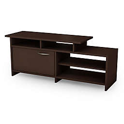South Shore Step One TV Stand in Chocolate