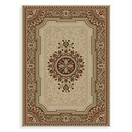 Concord Global Chateau Rugs in Ivory