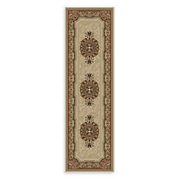 Concord Global Chateau 2-Foot 2-Inch x 7-Foot 3-Inch Rug in Ivory
