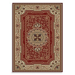 Concord Global Chateau Rugs in Red