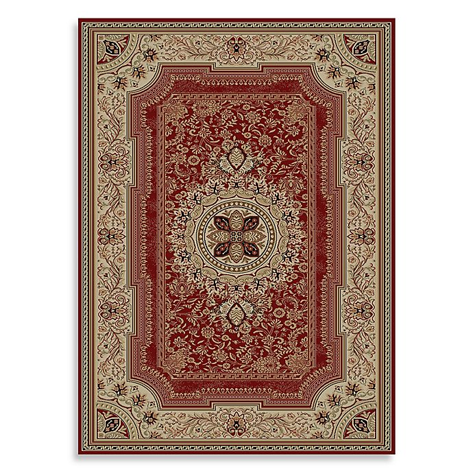 Alternate image 1 for Concord Global Chateau 5-Foot 3-Inch x 7-Foot 3-Inch Rug in Red