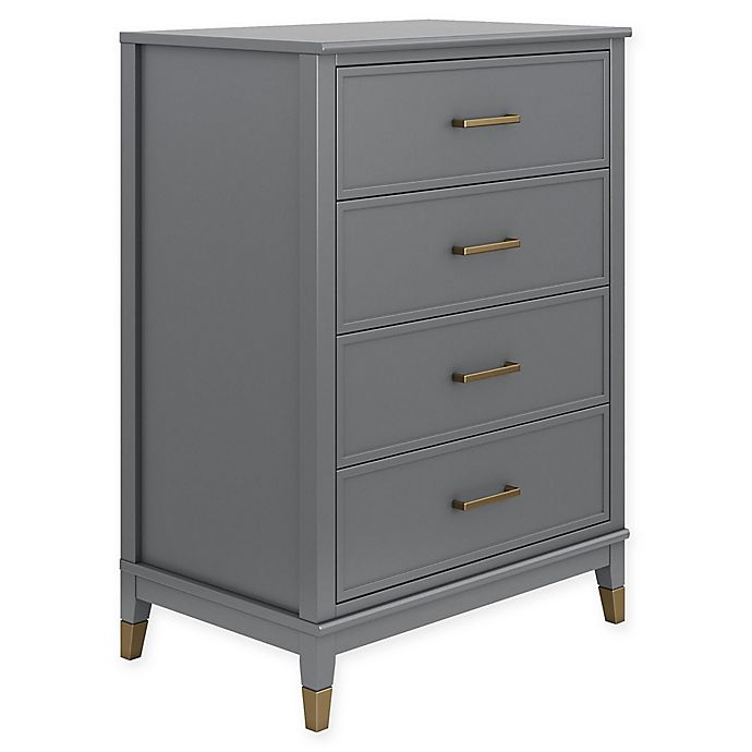 Alternate image 1 for CosmoLiving Westerleigh 4-Drawer Dresser