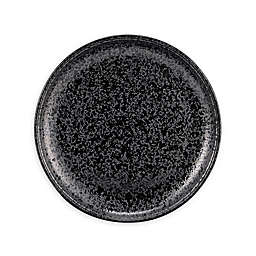 Over and Back® Surface Salad Plates in Black (Set of 4)