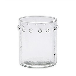 Mud Pie® Hammered Dot Double Old Fashioned Glass