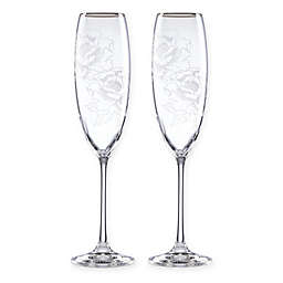 Lenox® Peony Champagne Flutes (Set of 2)