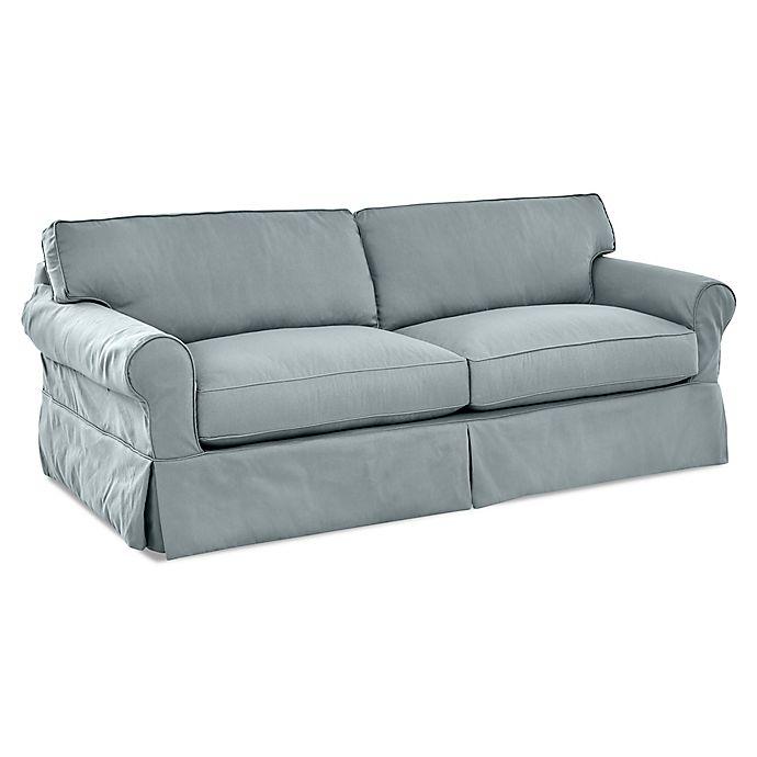 Alternate image 1 for Olivia Slipcovered Sofa